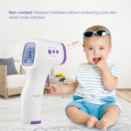 *READY STOCK* Forehead Infrared Medical Thermometer Non-Contact Digital Temperature Measurement for Kids and Adult