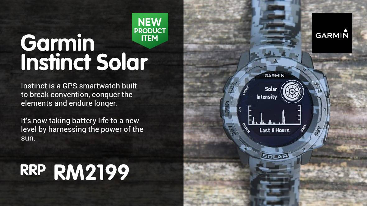 Instinct SOLAR @ RM2099 Promotion Now!
